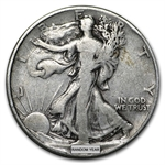 90% Silver Walking Liberty Half-Dollars - $500 Face-Value Bag