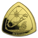 Bermuda 1996 Triangle $30 1/2 oz Gold Coin (Proof)