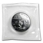 1997 - (1/2 oz) Silver Panda - 5 Yuan (Sealed in Plastic Capsule)