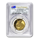 2009-P 1 oz Proof Gold Koala High Relief PR-70 DCAM PCGS (FS)