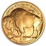 2008-W 1/2 oz Uncirculated Gold Buffalo (w/Box & CoA)