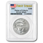 2007 4-Coin Platinum American Eagle Set MS-69 PCGS (First Strike)
