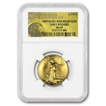 2009 Ultra High Relief Double Eagle MS-69 NGC ER (Gold Label)