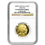 2008-W 1/2 oz Gold Buffalo PF-70 NGC
