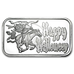 1 oz Headless Horseman Silver Bar (w/Gift Pouch & Cap)