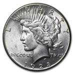 1928 Peace Dollar - MS-60