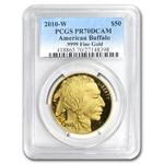2010-W 1 oz Proof Gold Buffalo PR-70 PCGS
