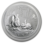 2011 10 oz Silver Australian Year of the Rabbit Coin