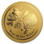 2011 10 oz Gold Lunar Year of the Rabbit (Series II)