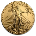 2011 1/2 oz Gold American Eagle - Brilliant Uncirculated