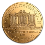 2011 1 oz Gold Austrian Philharmonic - Brilliant Uncirculated