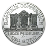 2011 1 oz Silver Austrian Philharmonic - Brilliant Uncirculated