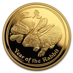 2011 3-Coin Proof Gold Lunar Year of the Rabbit (Series II)