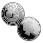 2011 Year of the Rabbit - 3 Coin Proof Set - Silver (Series II)