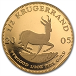South Africa 2005 1/2 oz Gold Krugerrand (Proof)