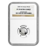 2005-W 1/10 oz Proof Platinum American Eagle PF-70 NGC