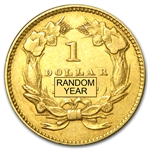 $1 Indian Head Gold - Type 2 - Extra Fine