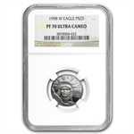 1998-W 1/4 oz Proof Platinum American Eagle PF-70 NGC