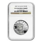 2007-W 1 oz Proof Platinum American Eagle PF-70 NGC