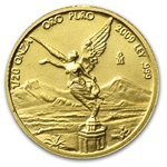 2009 1/20 oz Gold Mexican Libertad (Brilliant Uncirculated)
