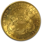 $20 Gold Liberty Double Eagle - MS-65 PCGS