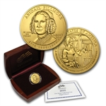 2010-W 1/2 oz Uncirculated Gold Abigail Fillmore (w/Box & CoA)