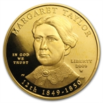 2009-W 1/2 oz Proof Gold Margaret Taylor (W/Box & Coa)