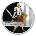 2010 1 oz Proof Silver Roman - Great Warriors Series