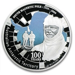 2009 1 oz Proof Silver South Pole Coin- Australian Antarctic