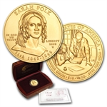 2009-W 1/2 oz Uncirculated Gold Sarah Polk (w/Box & CoA)
