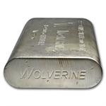 100 oz Wolverine Extruded Silver Bar .999 Fine