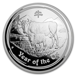 2009 Year of the Ox - 1 Kilo Silver Proof Coin (Series II)