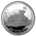 2008 Year of the Mouse - 1 oz Proof Silver Coin (Series II)