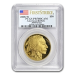 2008-W 1 oz Proof Gold Buffalo PR-70 PCGS (FS) Registry Set