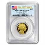 2008-W 1/4 oz Gold Buffalo PR-70 PCGS (FS) Registry Set