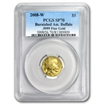 2008-W 1/10 oz Gold Buffalo MS-70 PCGS