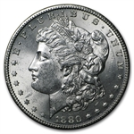 1880-S Morgan Dollar - Brilliant Uncirculated Roll 20 Coins