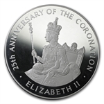 Jamaica 1978 25 Dollars Silver Proof or Unc Elizabeth II
