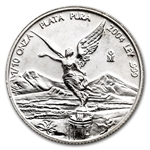 2004 1/10 oz Silver Mexican Libertad (Brilliant Uncirculated)