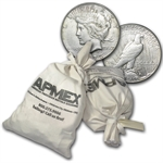 Morgan & Peace Silver Dollars 1,000-Coin Bag (Cull)