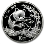 1994 1 oz Silver Chinese Panda - (Sealed) - Small Date