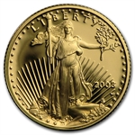 2003-W 1/10 oz Proof Gold American Eagle (w/Box & CoA)