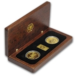 2006 1/2 oz Gold Kangaroo - Australia Outback Gold 2-coin Set