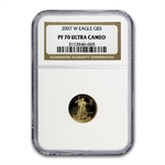 2007-W 1/10 oz Proof Gold American Eagle PF-70 NGC