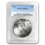 1922-1925 Peace Silver Dollar MS-64+ Plus PCGS