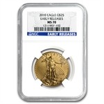 2010 1/2 oz Gold American Eagle MS-70 NGC (Early Releases)