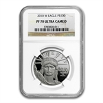 2010-W 1 oz Proof Platinum American Eagle PF-70 NGC
