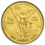 1992 1/20 oz Gold Mexican Libertad (Brilliant Uncirculated)