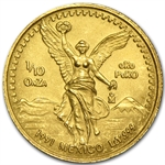 1991 1/10 oz Gold Mexican Libertad (Brilliant Uncirculated)