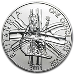 2011 1 oz Silver Britannia (Brilliant Uncirculated)